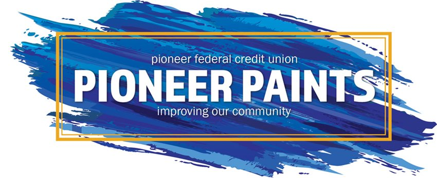 Pioneer Credit Union Pioneer Paints, improving our community